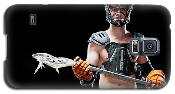 Mens Lacrosse  Galaxy S5 Case
