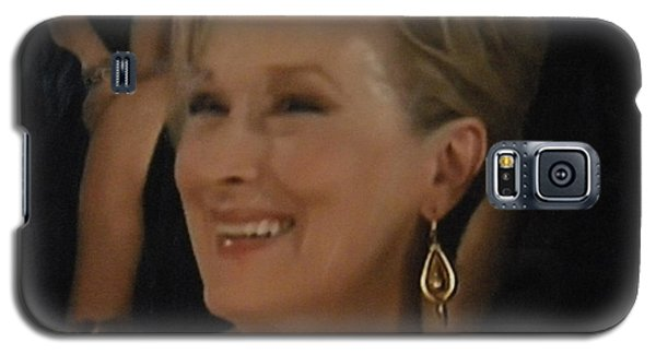 Meryl Streep Portrait  Galaxy S5 Case