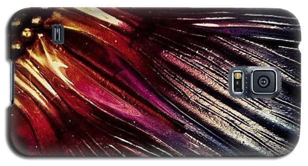 Iphoneonly Galaxy S5 Case - Metal Flower by Dave Edens