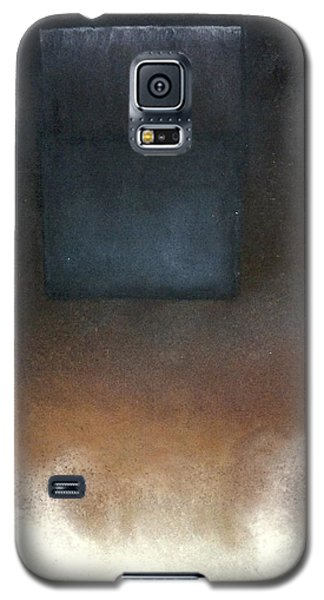 Galaxy S5 Case featuring the pastel Metaphysics-malavich Revisited by Carrie Maurer
