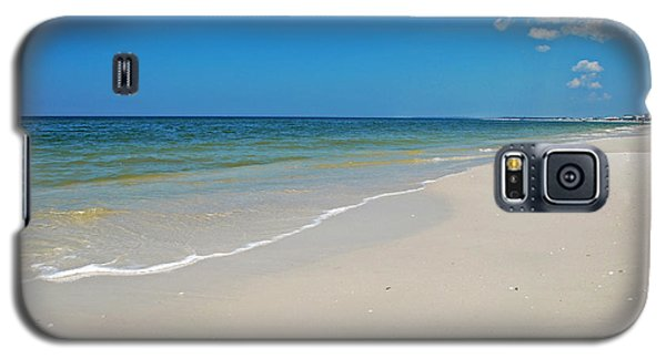 Galaxy S5 Case featuring the photograph Mexico Beach by Kay Lovingood