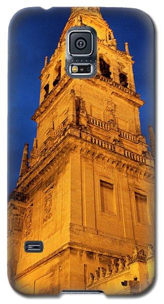 Galaxy S5 Case featuring the photograph Mezquita Tower by Lorraine Devon Wilke