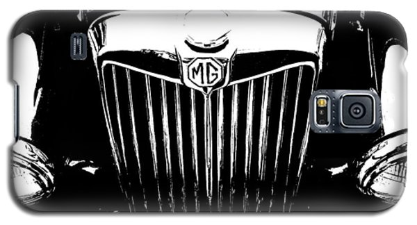 Mg Grill Black And White Galaxy S5 Case