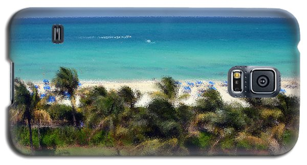 Galaxy S5 Case featuring the photograph Miami Beach by Pravine Chester