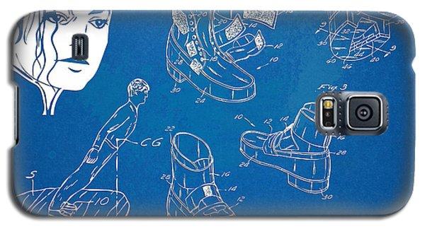 Michael Jackson Anti-gravity Shoe Patent Artwork Galaxy S5 Case by Nikki Marie Smith