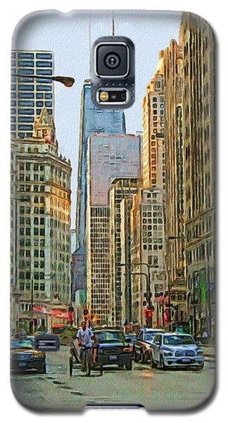 Michigan Avenue Galaxy S5 Case by Vladimir Rayzman