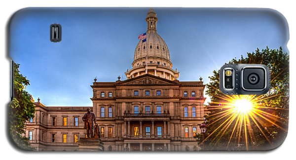 Michigan Capitol - Hdr-1 Galaxy S5 Case by Larry Carr
