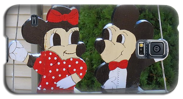 Mickey And Minnie Mouse Galaxy S5 Case