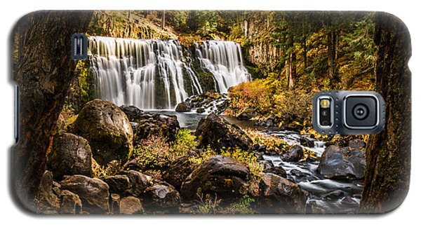 Galaxy S5 Case featuring the photograph Middle Falls Mccloud River -2 by Randy Wood