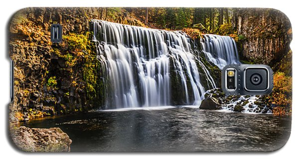 Galaxy S5 Case featuring the photograph Middle Falls Mccloud River by Randy Wood