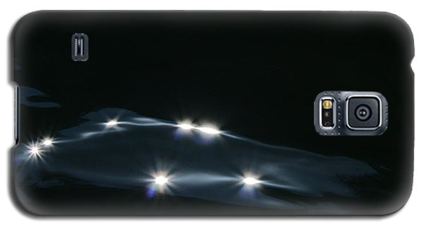 Galaxy S5 Case featuring the photograph Midnight Wave by Cathie Douglas