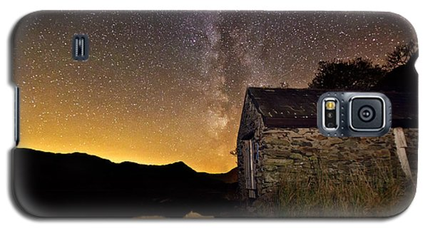 Milky Way Above The Old Boathouse Galaxy S5 Case