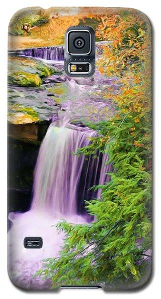 Mill Creek Waterfall Galaxy S5 Case