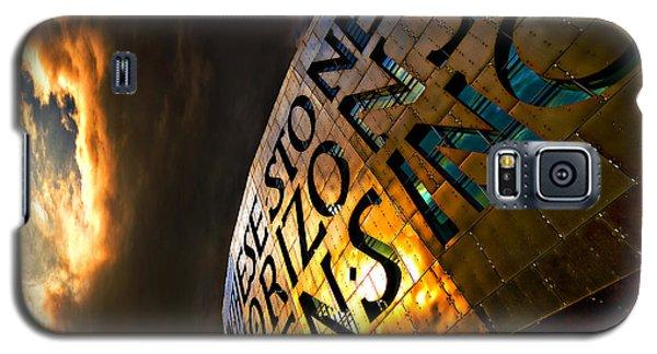 Galaxy S5 Case featuring the photograph Millennium Drama by Meirion Matthias