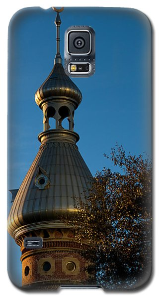 Galaxy S5 Case featuring the photograph Minaret And Trees by Ed Gleichman