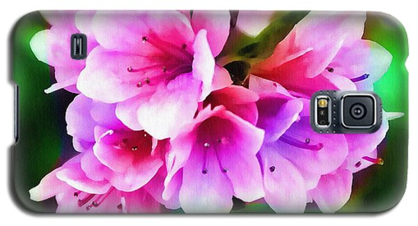 Galaxy S5 Case featuring the photograph Miniature Azaleas by Judi Bagwell