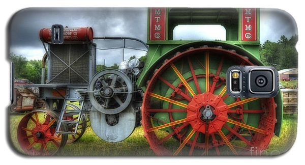 Galaxy S5 Case featuring the photograph Minneapolis Threshing Machine Co. by Trey Foerster