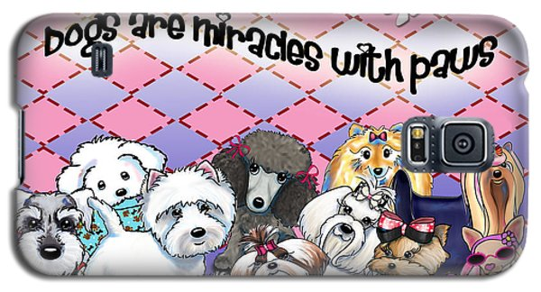 Miracles With Paws Galaxy S5 Case