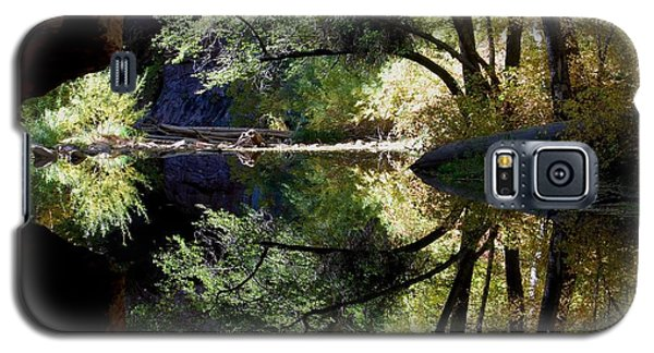 Galaxy S5 Case featuring the photograph Mirror Reflection by Tam Ryan