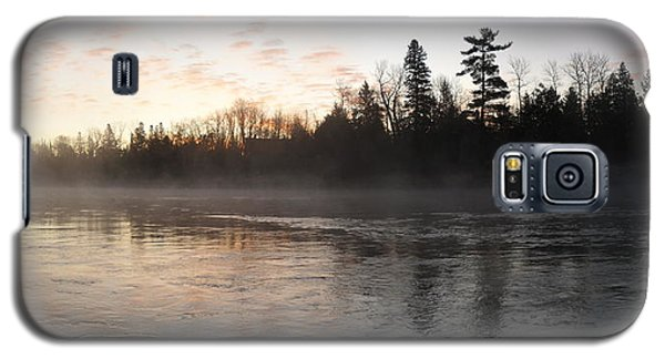 Mist Over The Mississippi Galaxy S5 Case