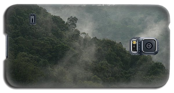 Galaxy S5 Case featuring the photograph Misty Cloud Forest Matagalpa Nicaragua by John  Mitchell