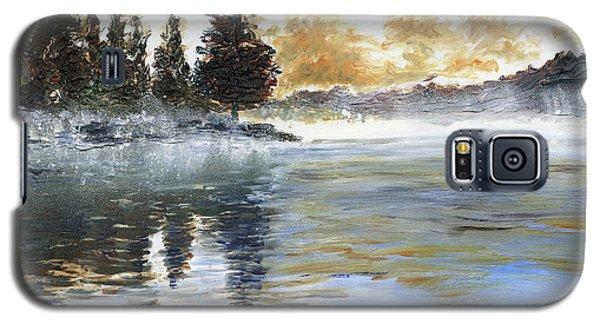 Misty Lake Galaxy S5 Case