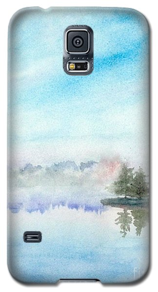 Misty Lake Galaxy S5 Case by Yoshiko Mishina