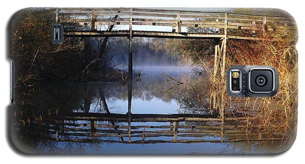 Misty River Bridge Galaxy S5 Case by Gerald Strine
