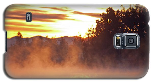 Galaxy S5 Case featuring the photograph Misty Sunrise by Tikvah's Hope