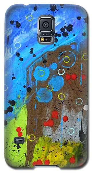 Galaxy S5 Case featuring the painting Mix It Up by Everette McMahan jr