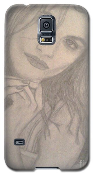 Model Galaxy S5 Case by Christy Saunders Church