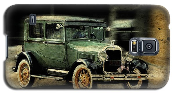 Galaxy S5 Case featuring the photograph Model T by Janice Adomeit