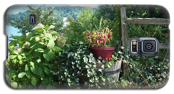 Galaxy S5 Case featuring the photograph Mom's Garden by Lou Ann Bagnall