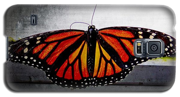 Galaxy S5 Case featuring the photograph Monarch by Julia Wilcox