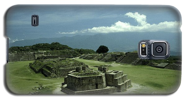 Monte Alban Plaza Galaxy S5 Case by John  Mitchell