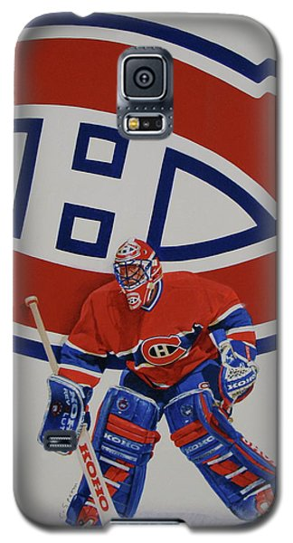 Galaxy S5 Case featuring the painting Montreal by Cliff Spohn