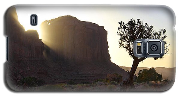 Monument Valley At Sunset Galaxy S5 Case