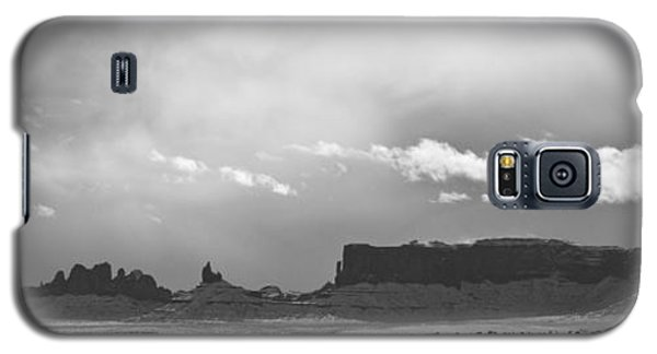 Monument Valley In Snow Panorama Galaxy S5 Case