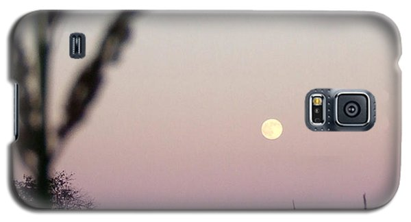 Galaxy S5 Case featuring the photograph Moon by Andrea Anderegg