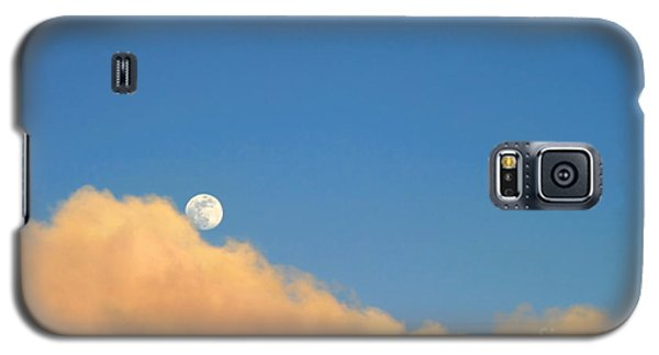 Moon At Sunset Galaxy S5 Case