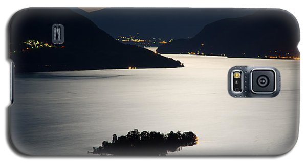 Moon Light Over Islands Galaxy S5 Case