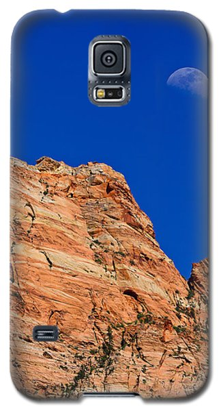 Moon Over Zion Galaxy S5 Case