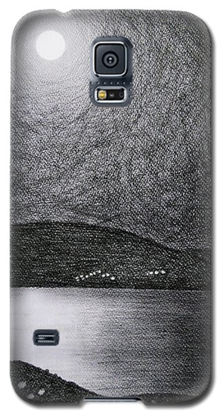 Moon Reflection On The Sea Galaxy S5 Case