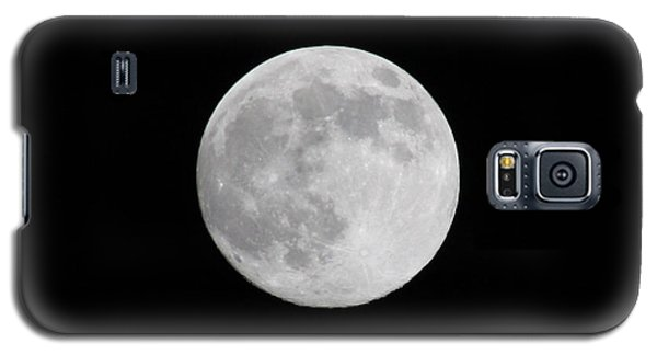 Galaxy S5 Case featuring the photograph Moon Time by Cathie Douglas