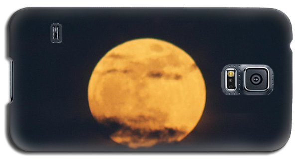 Galaxy S5 Case featuring the photograph Moon by William Norton