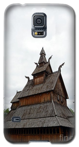 Moorhead Stave Church 26 Galaxy S5 Case