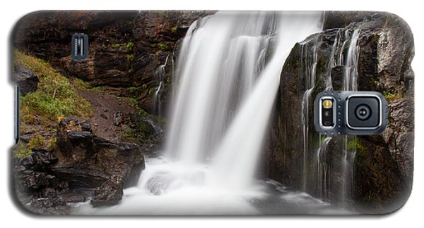 Moose Falls In Yellowstone National Park Galaxy S5 Case