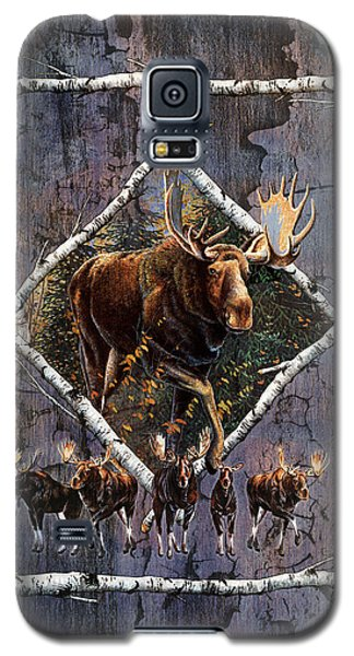 Bull Galaxy S5 Case - Moose Lodge by JQ Licensing