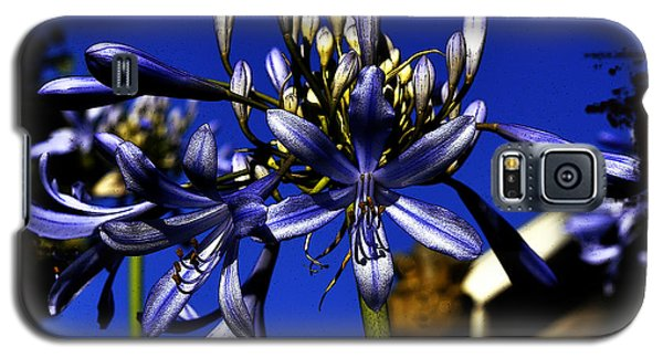 Galaxy S5 Case featuring the photograph Morning Blooms by Clayton Bruster