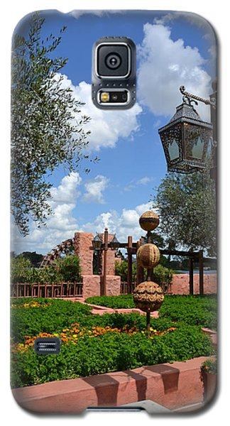 Moroccan Garden I Galaxy S5 Case by Bonnie Myszka